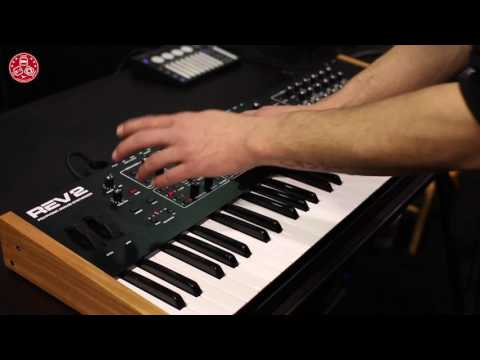 NAMM2017: Dave Smith Instruments  REV2  new 16-voice  analog  polyphonic synth Preset Examples