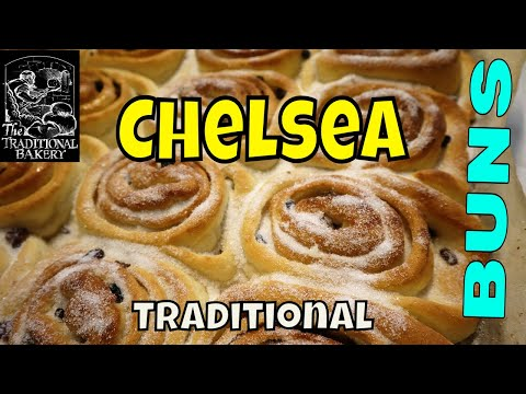 How it's made the Traditional Chelsea bun