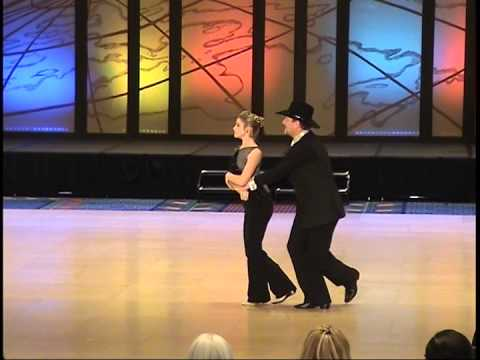 UCWDC 2015 Worlds ProAm Teen Intermediate West Coast Swing Alexis Garrish & Dean Garrish