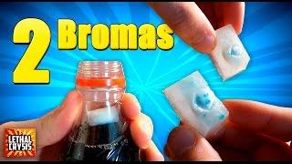 2 Bromas con Coca cola y Mentos para hacer a tus amigos