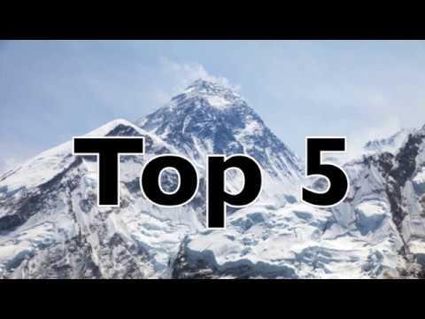 Top 5: Dead Bodies Found on Mount Everest