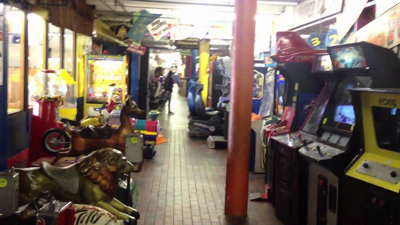 Arcade Tour Of Fun Factory At Redondo Beach Ca Youtube