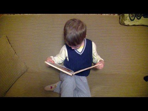 Ребенок 4 года самостоятельно читает