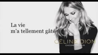Celine Dion - Encore Un Soir ( Tribute To Rene Angelil )