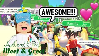 10K Subscribers Special - Adopt me Meet & Greet (Roblox) | Its SugarCoffee