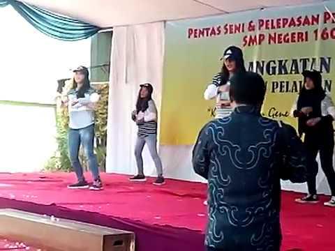 Dance Kelas 7 pelepasan kelas 9  2015/2016 SMP Negeri 160 Jakarta