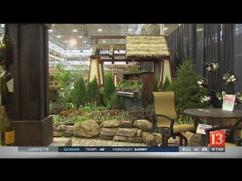 Dive Into Spring At The Indiana Flower U0026 Patio Show