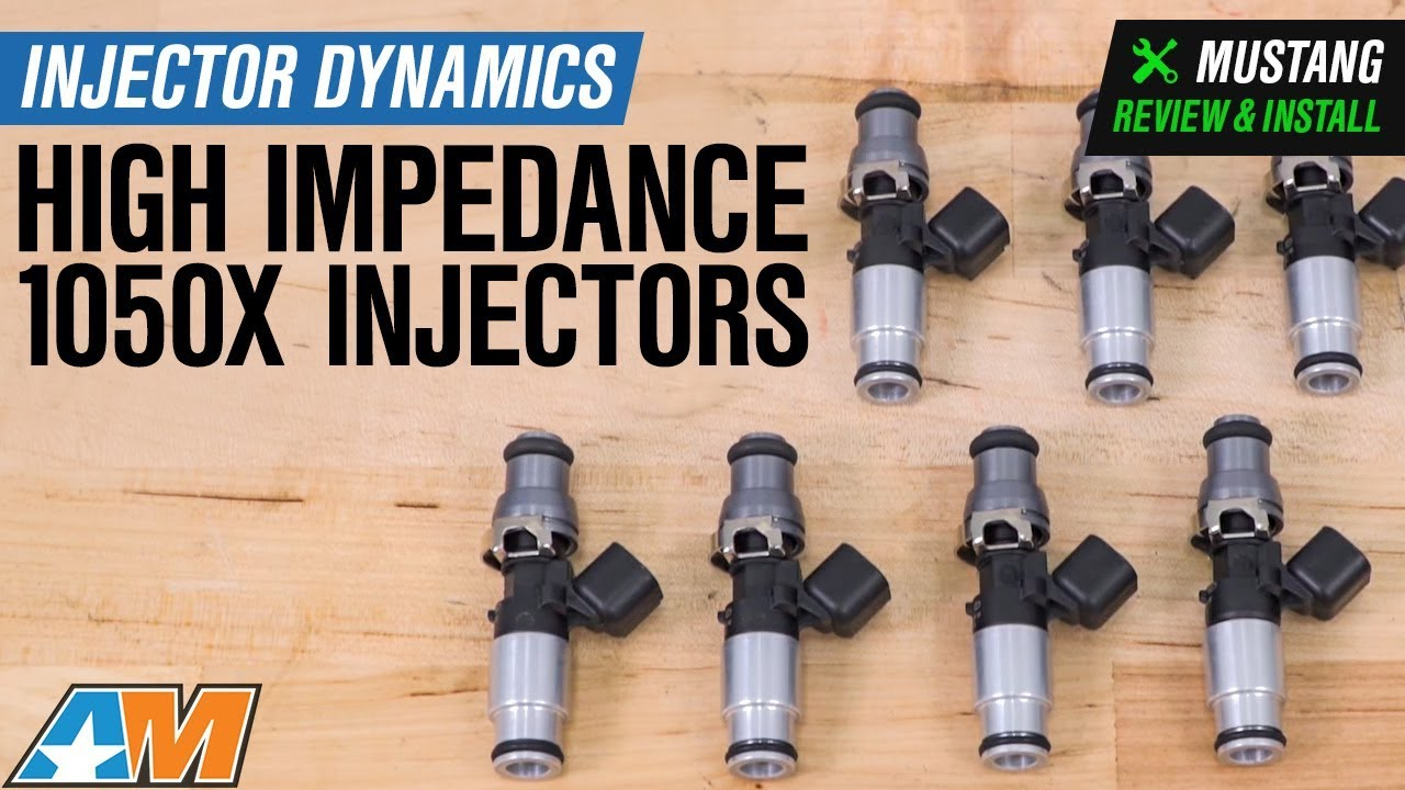 2011-2018 Mustang GT Injector Dynamics High Impedance ID 1050x Injectors  Review & Install