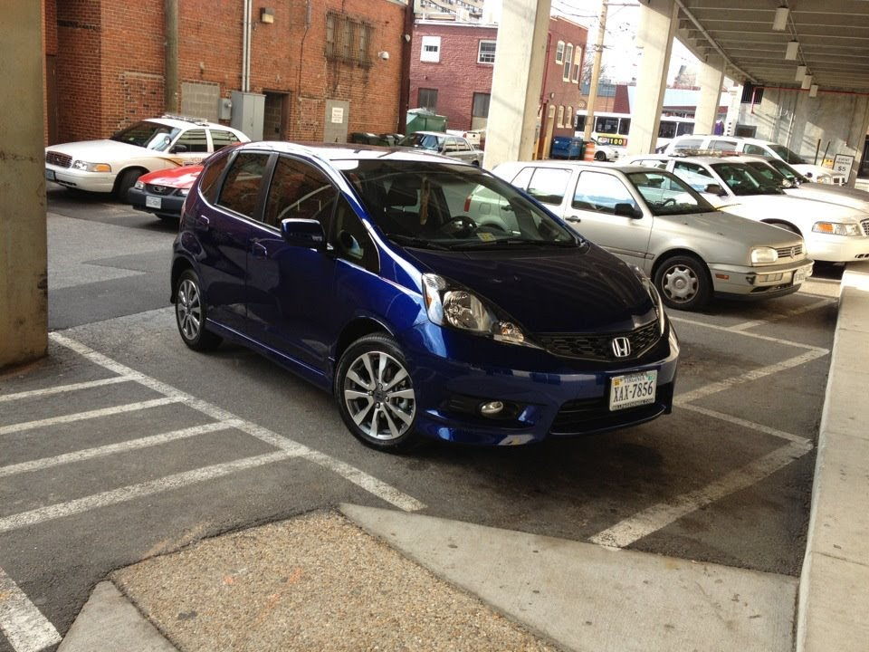 My Brand New 2012 Honda Fit Sport Manual In Vortex Blue Pearl Youtube