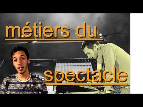 Métiers du spectacle - Lycée denis diderot - je film le métier qui me plait
