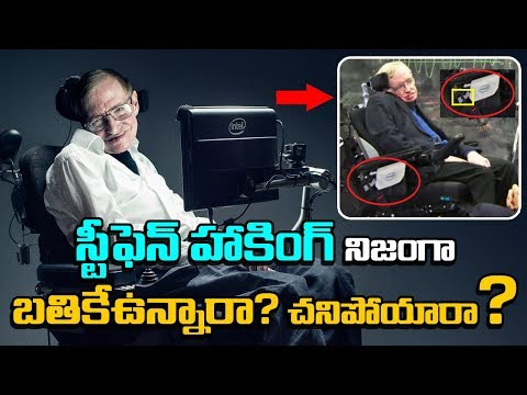 Is Stephen Hawking Still ALIVE? | Interesting Facts About Stephen Hawking | Unknown Facts Telugu