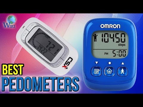 10 Best Pedometers 2017