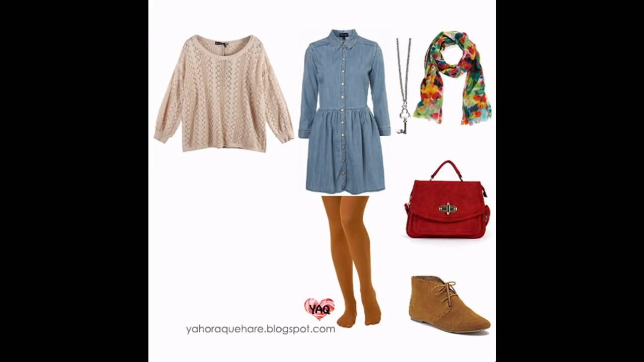 32aaea6dc9 Las últimas tendencias en moda Como combinar un vestido de mezclilla.  Outfits de moda