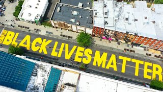 Trump Calls Black Lives Matter Mural A 'symbol Of Hate'
