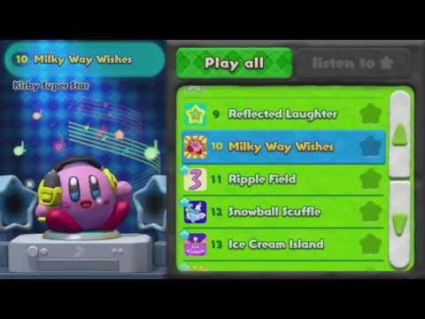 Kirby and the Rainbow Curse *Music Room*