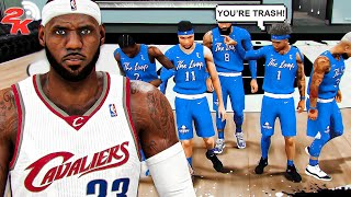 I took my LEGEND LEBRON JAMES BUILD to a COMP PRO AM LEAGUE in NBA 2K20 (Ep. 1)