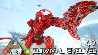 ARK: SURVIVAL EVOLVED - ALPHA MEK ROBOTS NEW UPDATE !!! | ARK EXTINCTION ETERNAL E40