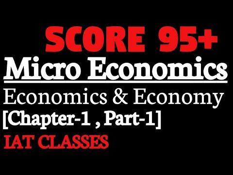 [English] Economics and economy Class 12 Economics,[Chapter-1,Part-1],