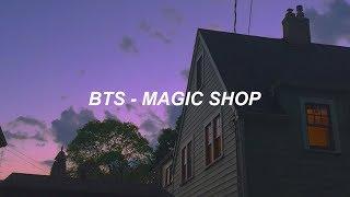 BTS (방탄소년단) 'Magic Shop' Easy Lyrics
