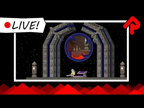 Starbound 1.2: A Vault from the Blue! (unstable) | Live Stream Sunday 11 December