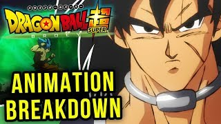 Dragon Ball Super: Broly TRAILER DEBUT! Animation Breakdown