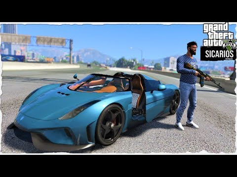 GTA 5 REAL LIFE MOD   #7 SORPRESA EN LA MANSION-GUERRA X EL R8 (SICARIOS)? thumbnail