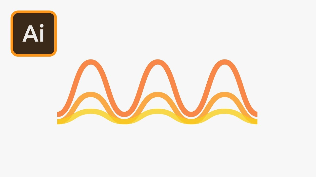 how to make a wavy line in illustrator cs6