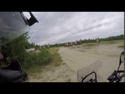 Oil rig in Siberia