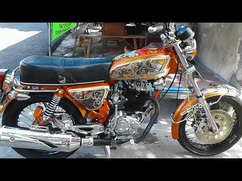 Modif Honda CB Jadul Mesin Tiger Bore Up