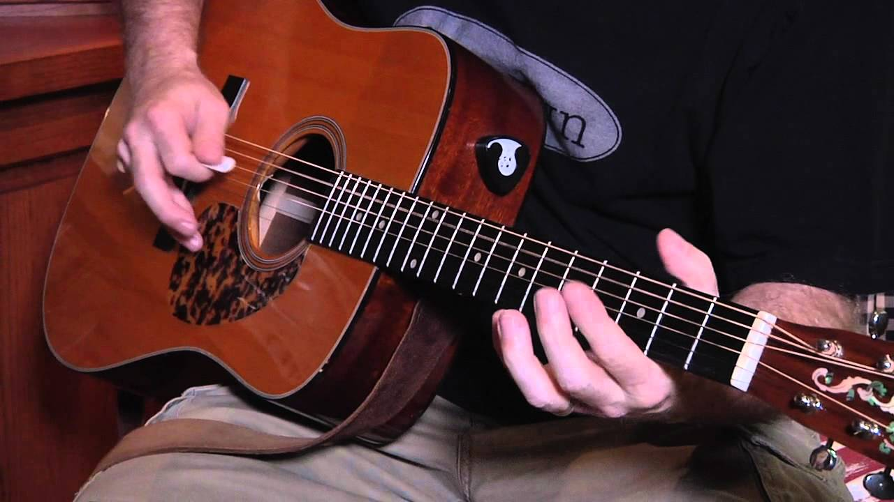 bluegrass guitar  easy bluegrass guitar- playing rhythm and lead in the same song ...
