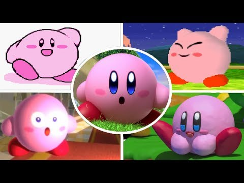 Evolution of Intros in Kirby Games (1992 - 2018)
