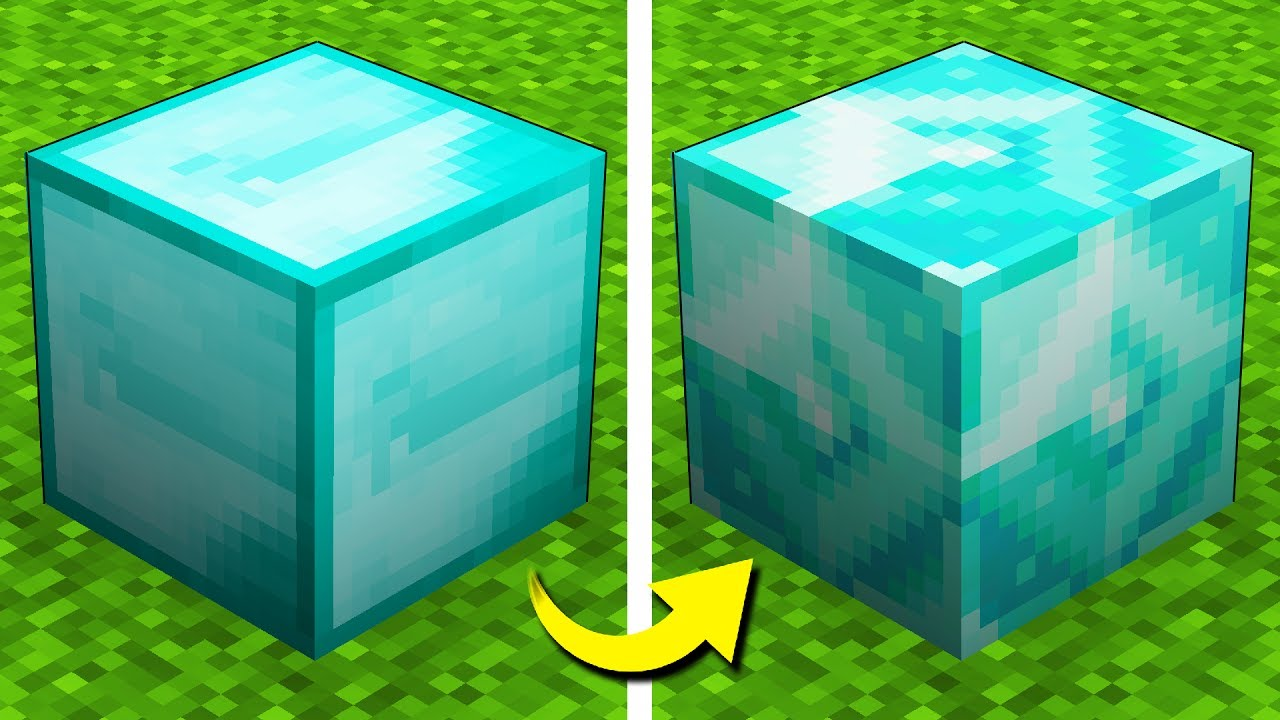 New Textures Update Changes Minecraft 1 13 Youtube