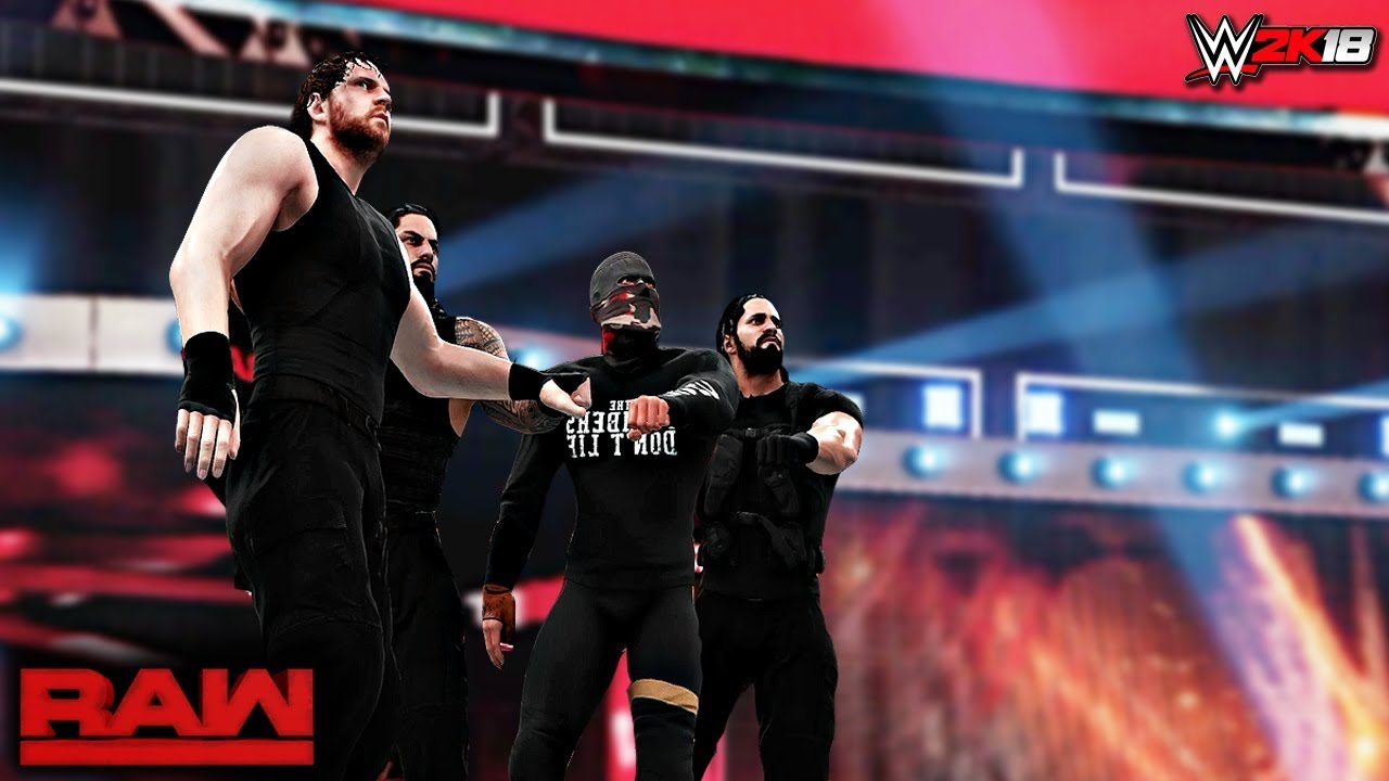 Download WWE 2K18 Custom Story - The Shield Recruit a Fourth Member Raw 2017 ft. Lesnar, Triple H - PART 10