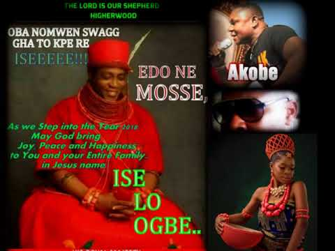 OBA NOMWEN SWAGG GHA TO KPE RE..ISEEE!!! -BY AKOBE.