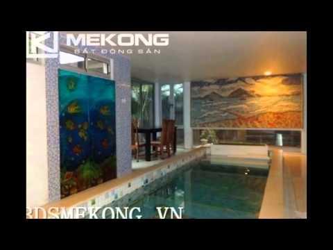 Cho thuê biệt thự 04 phòng ngủ, bể bơi riêng, trên đường Đặng Thai Mai, Tây Hồ