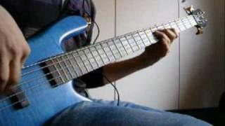 Dream theater - Ytse jam bass cover