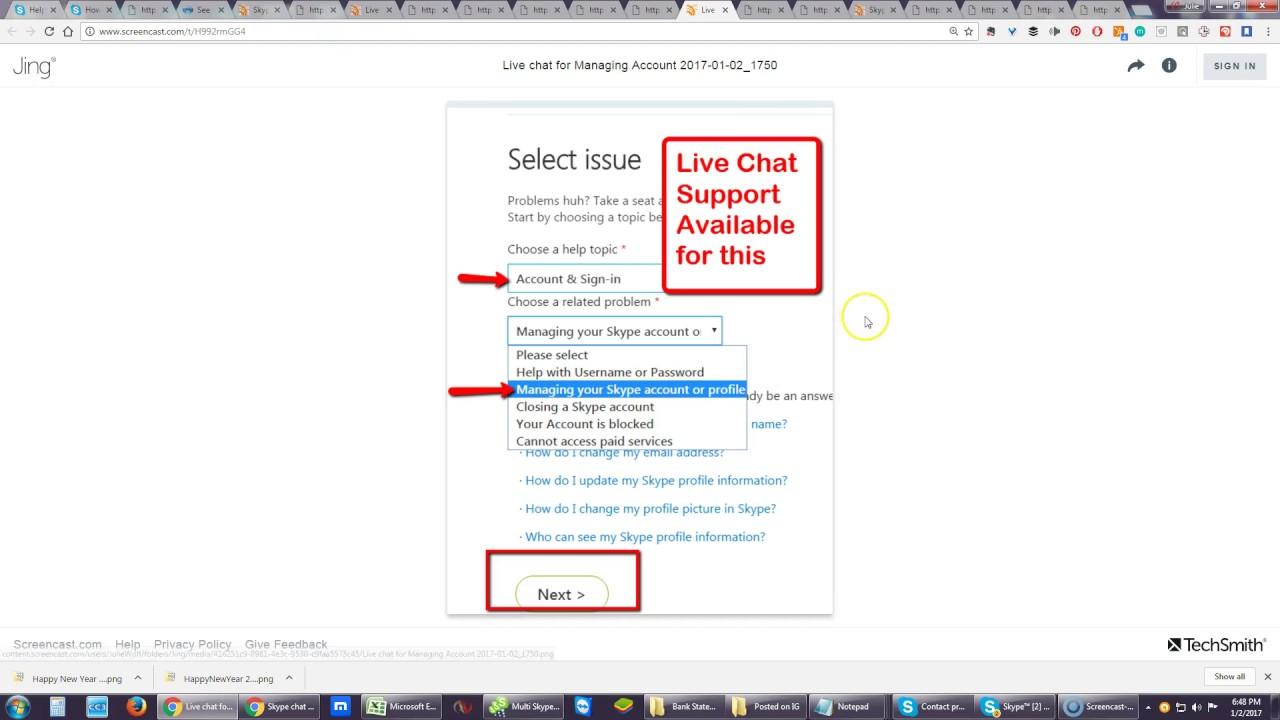 fittebilder skype online chat