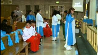 Video Cộng đoàn Đức Mẹ Lavang giáo phận San Francico mừng kỷ niệm 1 năm thành lập