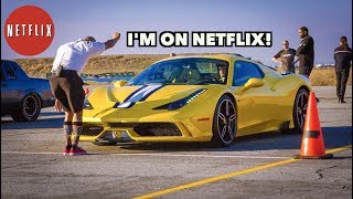I RACED MY RARE FERRARI ON NETFLIX