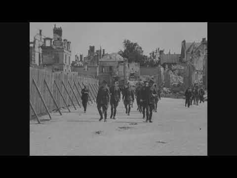 TOUR OF BATTLE FRONTS BY PERSHING, AUGUST 3-8, 1919