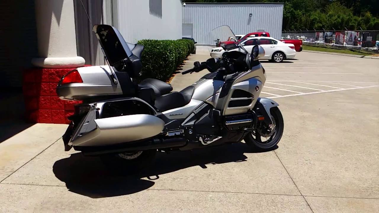 Honda Fury Review >> 2016 Honda Gold Wing Walk-Around Video   Matte Altair Silver GL1800 Touring Motorcycle - GL18HPM ...