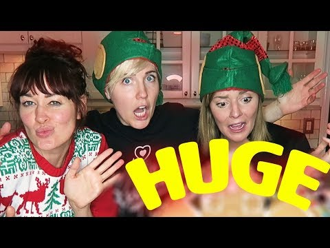 GINGERBREAD MEGA HOUSE w/ Grace Helbig and Mamrie Hart!