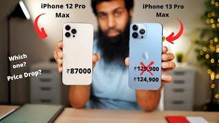 iPhone 13 Pro Max vs 12 Pro Max Comparison in Hindi
