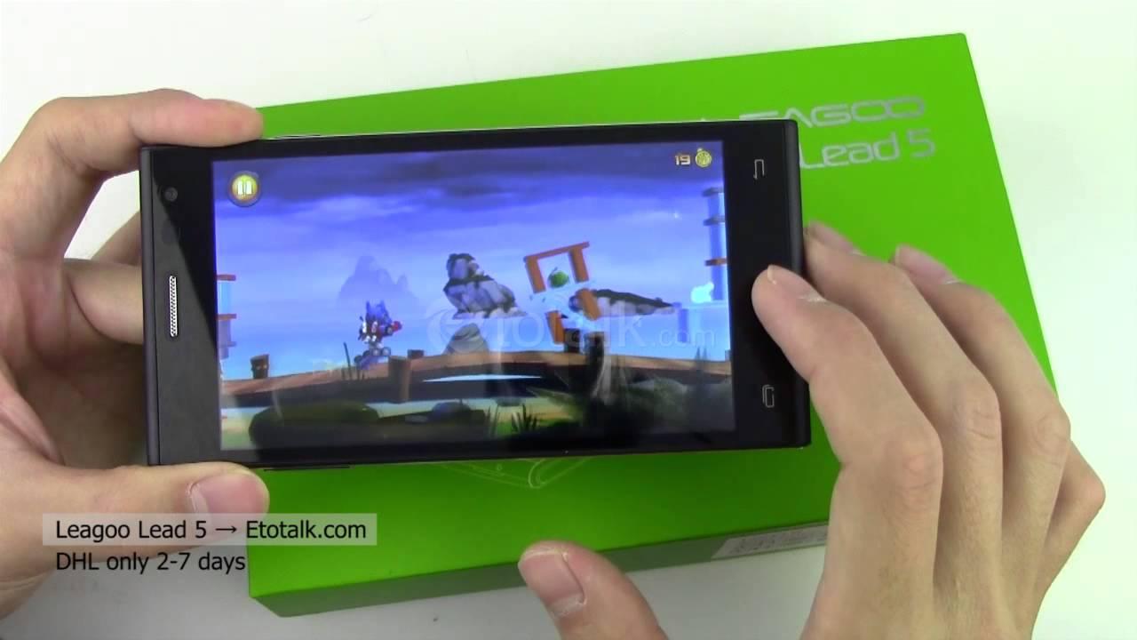 Leagoo Lead 5 Android KitKat 4.4 Quad Core 3G WCDMA ...