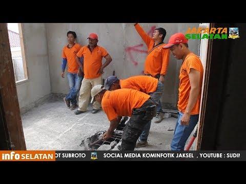 Penertiban Bangunan Tidak sesuai IMB yang terletak di Jalan Pringgodani RT  003 Pondok Labu Mp3
