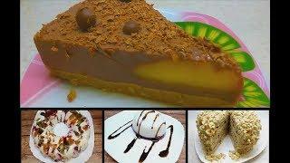 4 десерта без выпечки на Новый год