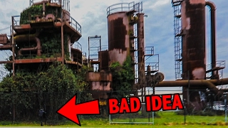 EXPLORING AN ABANDONED POWER PLANT!