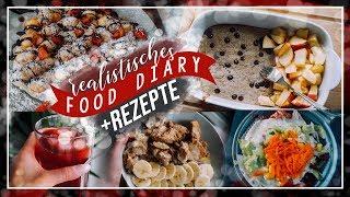 FOOD DIARY - REALISTISCH, schnell&einfach (2200-2400kcal) // JustSayEleanor ♡ (Ernährung)