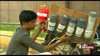 Alternate fuel bike by ARUNAI Engineering college, Mechanical students