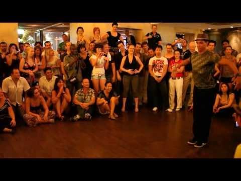 Salah and his team - Sydney Salsa Congress 2011- after party - @ Pumphouse - part 1